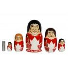 Матрешка Канадские спортсмены чемпионата мира 1972  года