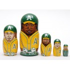 Матрешка Oakland Athletics