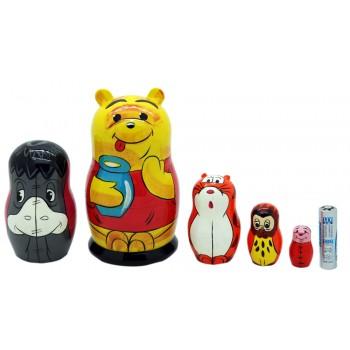 Матрешка Winnie The Pooh Винни Пух большой