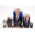 Матрешка Путин семерка