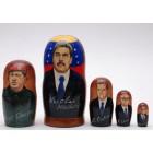 Матрешка политики Венесуэлы (венесуэльские политики)