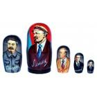 Матрешка Ленин3