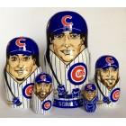 Матрешка Chicago cubs