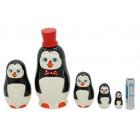 Матрешка Пингвины3