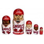 Матрешка Los Angeles Angels