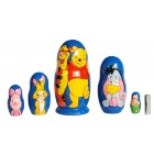 Матрешка Winnie the Pooh Винни-пух Животные2