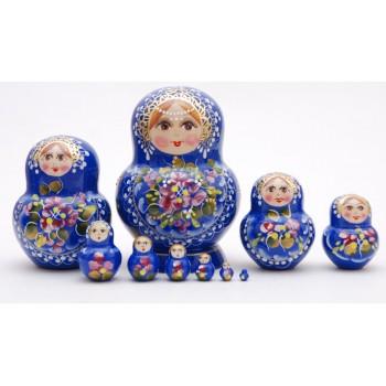 Матрешка Жостовская15