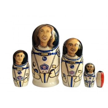 Матрешка французские космонавты