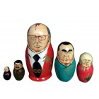 Матрешка Горбачев, советские политики