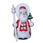 Спортивный Резной Дед Мороз малый Nebraska Cornhuskers