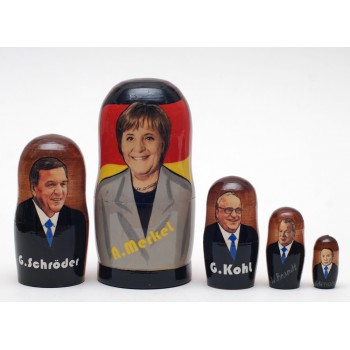 Матрешка Немецкие политики