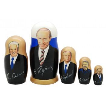 Матрешка Путин Российские политики3