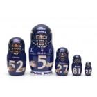 Матрешка Baltimore Ravens