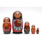 Матрешка традиционная семья1