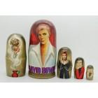Матрешка David Bowie (Дэвид Боуи)