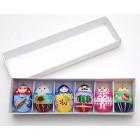Новогодние игрушки-яйца семейка3, яйца к Пасхе