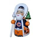 Спортивный Резной Дед Мороз малый Chicago Bears