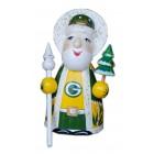 Спортивный Резной Дед Мороз малый Green Bay Packers