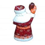 Спортивный Резной Дед Мороз Virginia Tech Hokies