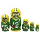 Матрешка Green Bay Packers