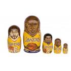 Матрешка Los Angeles Lakers