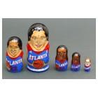 Матрешка Atlanta Dream-team