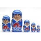 Матрешка Quebec Nordiques