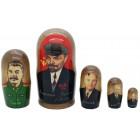 Матрешка От Ленина до Путина