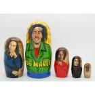 Матрешка Bob Marley Боб Марли