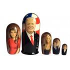 Матрешка Американские политики - Трамп с семьей
